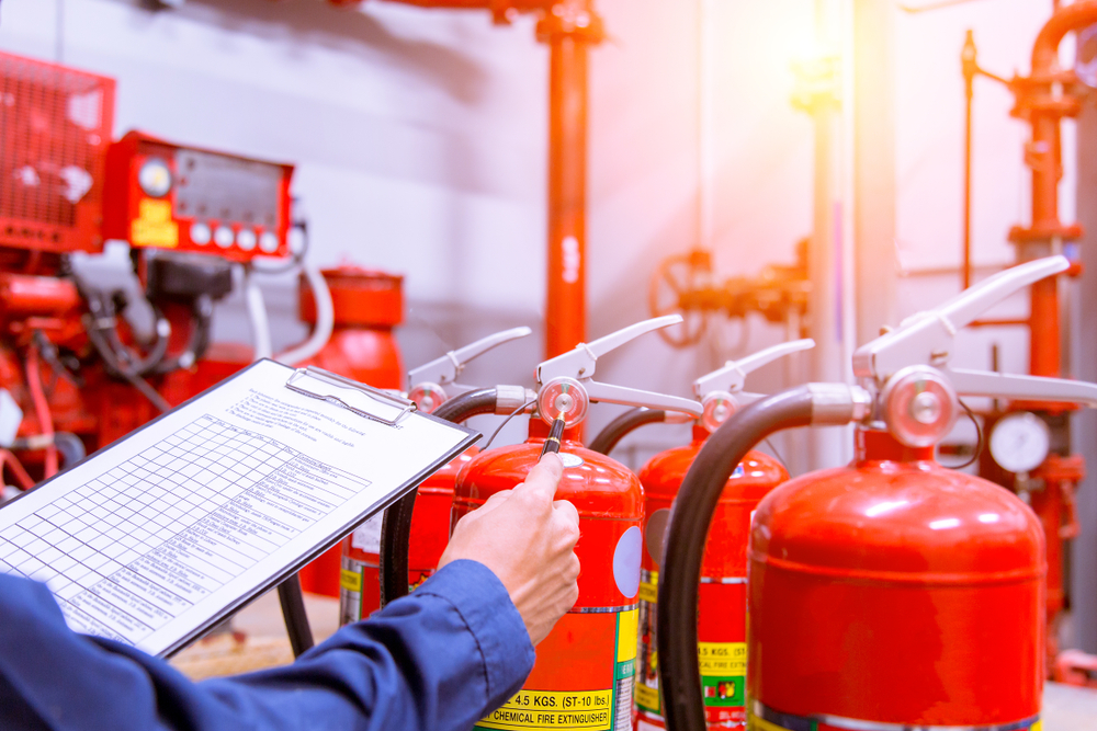 Property firms fail fire safety checks facing huge fines